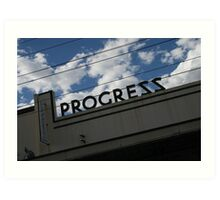 Progress Theatre Art Print