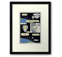 Kerbal Space Rescue Program. Framed Print