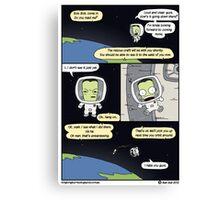 Kerbal Space Rescue Program. Canvas Print