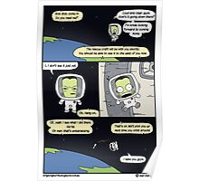 Kerbal Space Rescue Program. Poster