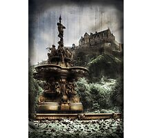 Edinburgh Castle ( Infrared ) Photographic Print