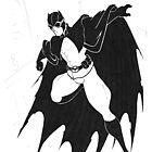 Edwardian Batman by bevismusson