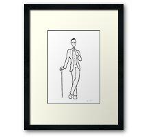 Edwardian Riddler Framed Print