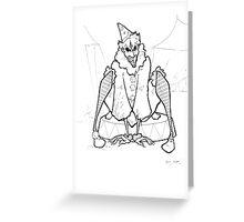 Edwardian Joker Greeting Card