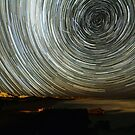 Robe Startrails by Wayne England