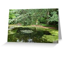 The Japanese Garden Greeting Card