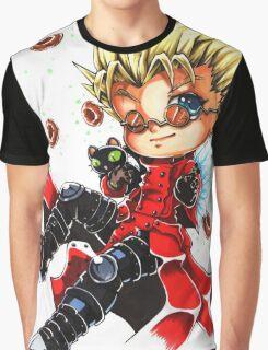 Vash the Stampede & Kuroneko Graphic T-Shirt