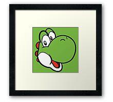 Yoshi Super Mario World Framed Print