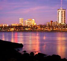 Tulsa, Oklahoma - University Tower View by Gregory Ballos | gregoryballosphoto.com