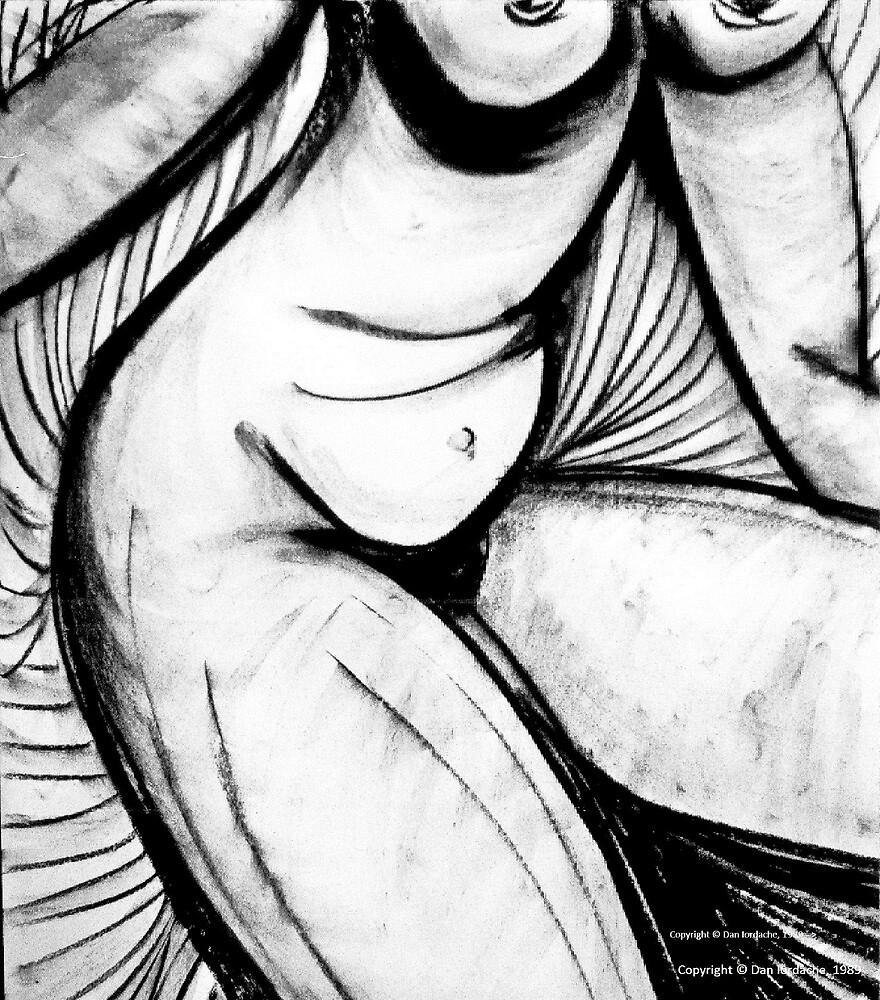 Charcoal Torso by ivDAnu