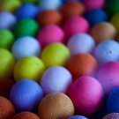 Coloured spheres by LincolnDispImgs