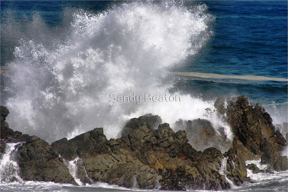"""West coast waves"" - Cape coast - South Africa by Sandy Beaton"