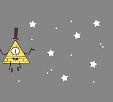 BILL CIPHER by hungrykate