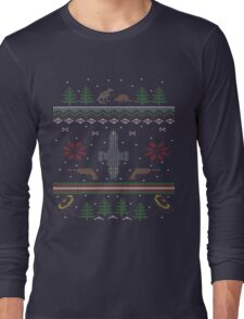 Ugly Firefly Christmas Sweater Long Sleeve T-Shirt