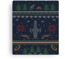 Ugly Firefly Christmas Sweater Canvas Print