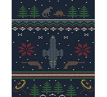 Ugly Firefly Christmas Sweater Photographic Print