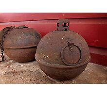 Old Smudge Pots Photographic Print