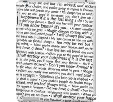 Once Upon A Time - Quotes iPad Case/Skin