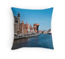 Gdansk ( Danzig ) - Poland   Throw Pillow