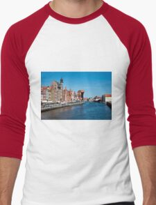 Gdansk ( Danzig ) - Poland   Men's Baseball ¾ T-Shirt