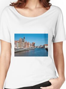 Gdansk ( Danzig ) - Poland   Women's Relaxed Fit T-Shirt