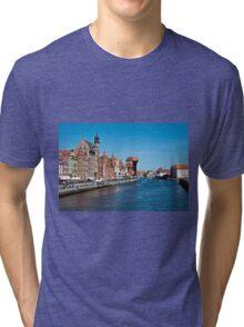 Gdansk ( Danzig ) - Poland   Tri-blend T-Shirt