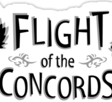 Flight of the Concords Sticker