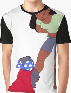 STITCH CAUGHT BY NANI Graphic T-Shirt