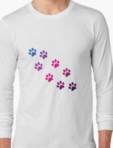 Cat Paws Long Sleeve T-Shirt