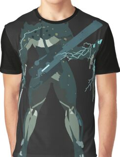 Raiden Vector Art - Metal Gear Solid/Rising Graphic T-Shirt