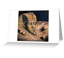 QUESTIONING THE SPHINX Greeting Card