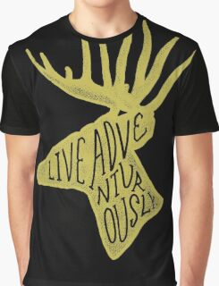 Live Adventurously Graphic T-Shirt