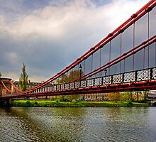 South Portland Street Suspension Bridge by Tom Gomez