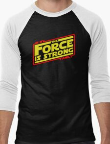 The force is strong... Retro Empire Edition Men's Baseball ¾ T-Shirt