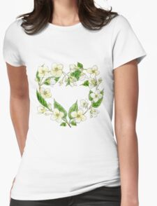 Jasmine's heart Womens Fitted T-Shirt
