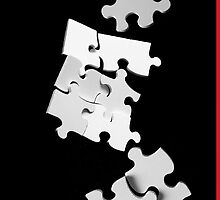 Jigsaw - iPhone by Andrew Bret Wallis