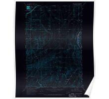 USGS Topo Map Washington State WA Ritzville SE 243467 1967 24000 Inverted Poster