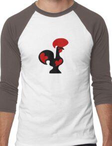 rooster barcelos coq portugal Men's Baseball ¾ T-Shirt