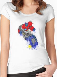 Freedom is the right of all sentient beings. Women's Fitted Scoop T-Shirt