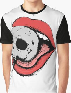 Skull Lollipop Graphic T-Shirt