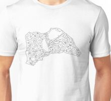 Race Tracks to Scale - Plain Layouts Unisex T-Shirt
