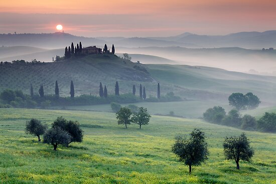 Tuscan Morning by Martin Rak
