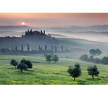 Tuscan Morning Photographic Print