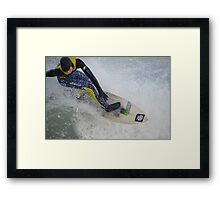 Cornwall: Up close with the Action Framed Print