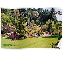 Butchart Gardens- Victoria, British Columbia Poster