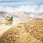 Dusty Ride to Mount Everest by ieatstars