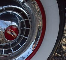 1954 Chevy Bel Air Tire by LyssaC