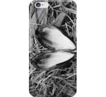 Loveheart Mussel. iPhone Case/Skin