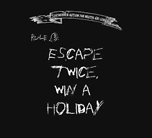 deadbunneh asylum - escape twice, win a holiday Womens Fitted T-Shirt