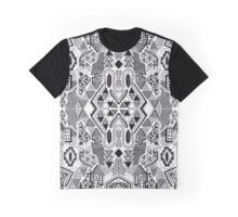 Busy Body Line Pattern Graphic T-Shirt